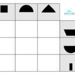 matriz lógica com formas