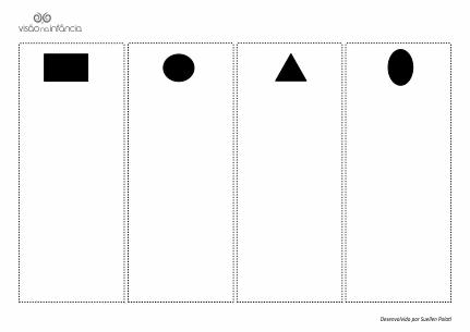 Atividade de pareamento – formas