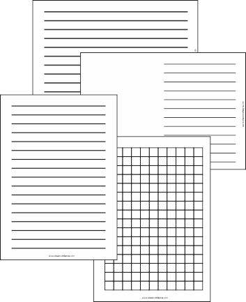 modelos de pautas e capas de caderno para baixa visão