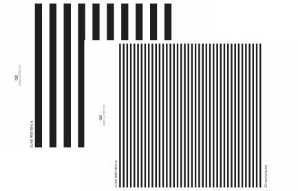 placas para avaliação do olhar preferencial