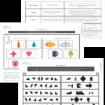 100 atividades de percepção visual com TANGRAM