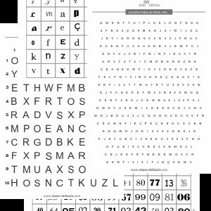Atividade de rastreamento visual e localização espacial (sacádicos, atenção, concentração, visuopercepção e memória de trabalho).