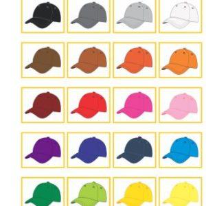 Atividade de pareamento de cores, com paleta de 20 tons.