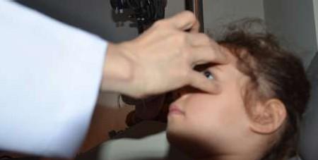 exames de vista na infância - reflexos corneanos