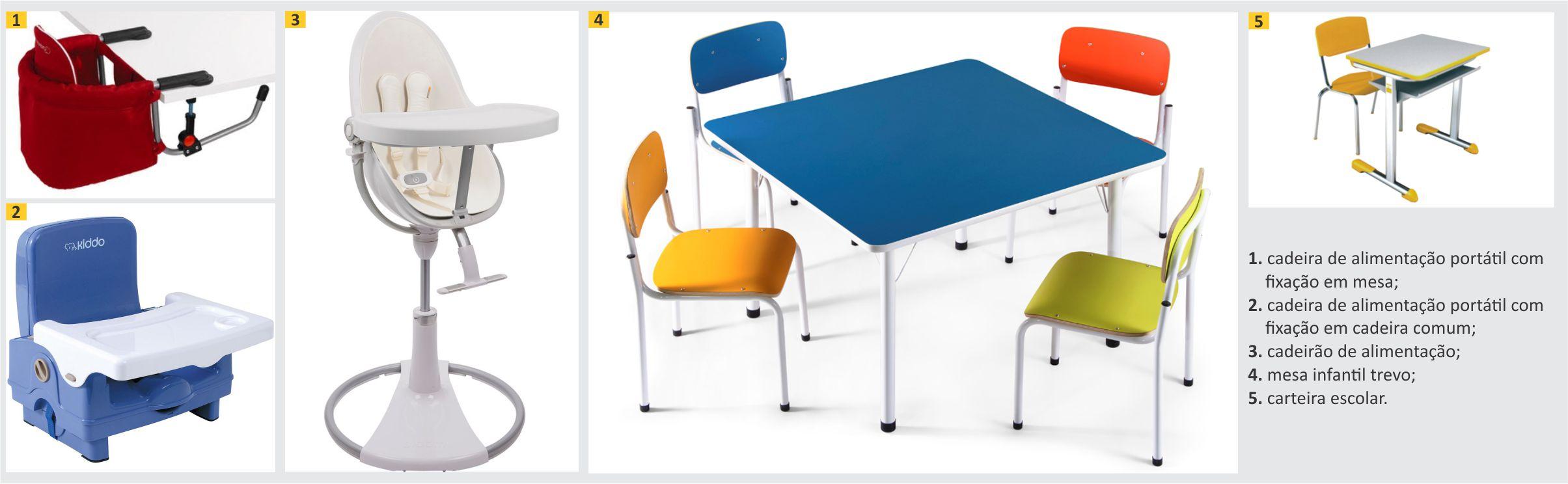 cadeiras para estimulação visual