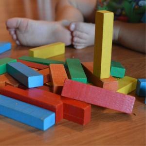 blocos coloridos