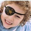tampão ocular tipo tapa-olho pirata