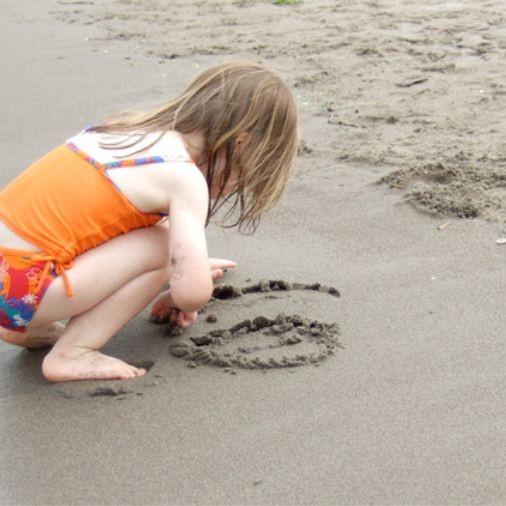 atividade de coordenação motora na areia