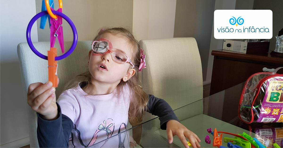 brincadeiras para estimulação visual
