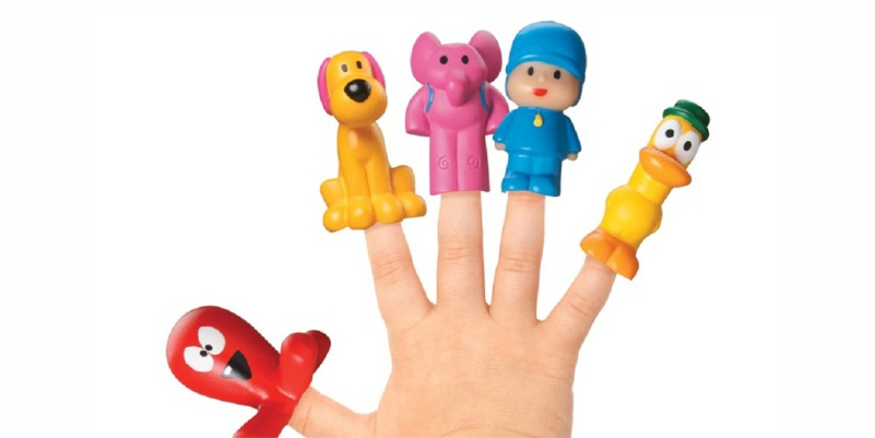 Dedoches da turm do Pocoyo