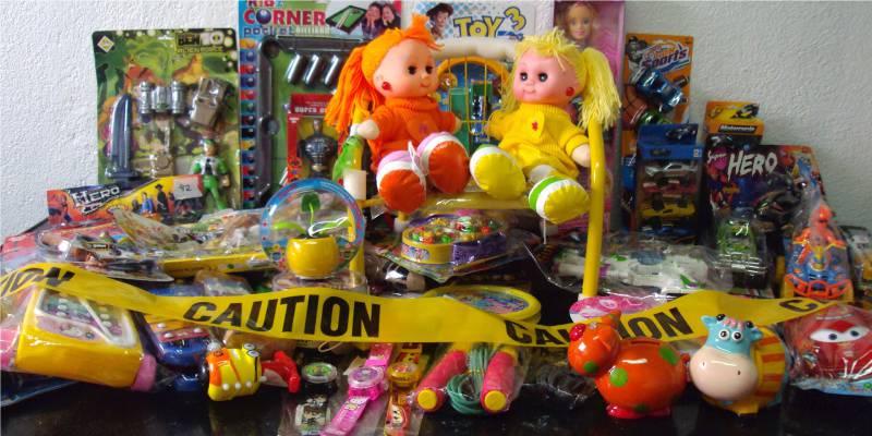 brinquedos perigosos para os olhos