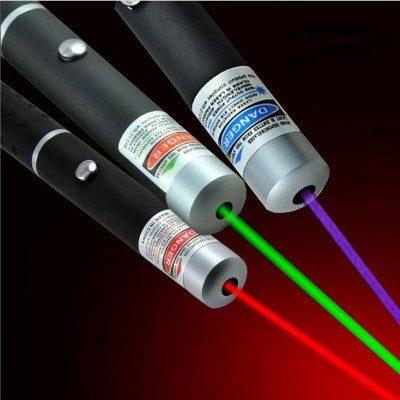 ponteiros laser podem causar danos à visão
