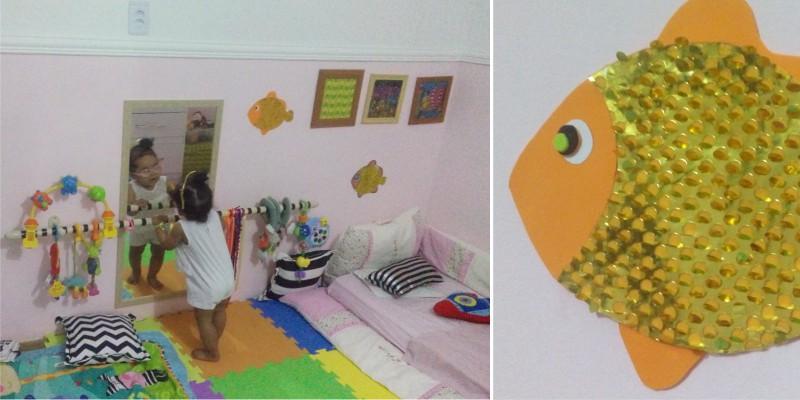 modificações em casa para a criança com baixa visão